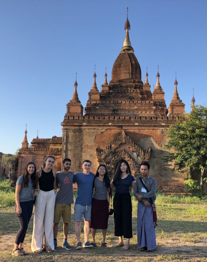 Fellows Rita Kim in Bagan 1