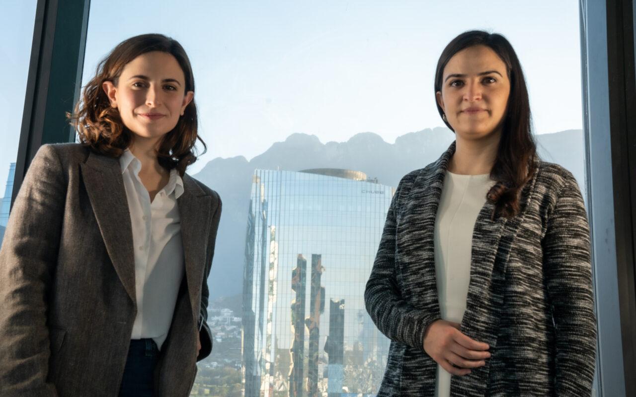 Lissy Giacomán Colyer and Sofía Sada - Vinco Cofounders