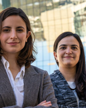 Sofía Sada and Lissy Giacomán Colyer - Vinco Cofounders
